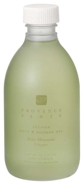 Bath shower gel softening Vetiver