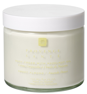 Body cream moisturizing Sweet almond