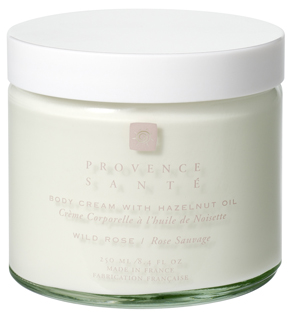 Body cream moisturizing Wild rose