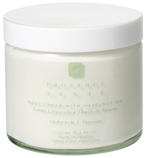 Body cream moisturizing Vervaine