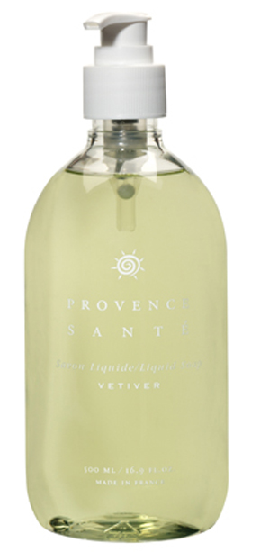Liquid soap frequent use Vetiver