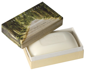 Giftbox 1 soap 350g (12 oz.) Linden