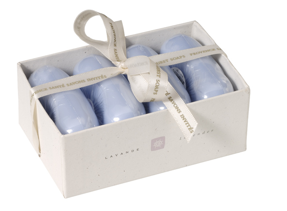 Giftbox 4 soaps 50g Lavender