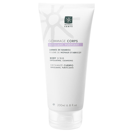 Body scrub exfoliating cleansing